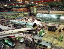 Boeing Aircraft Factory Tour Center